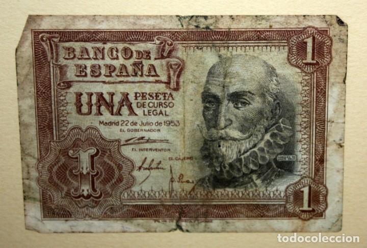 Billetes españoles: CONJUNTO DE 8 BILLETES DE 1 Y 2 PESETAS DE DIFERENTES AÑOS... 1 BURGOS 1940 - 2 BURGOS 1938, ETC.. - Foto 10 - 176983132