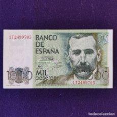 Billetes españoles: BILLETE ORIGINAL DE 1000 PESETAS. 1979. SIN CIRCULAR. PLANCHA. PÉREZ GALDOS. Lote 177661647