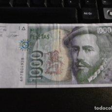 Billetes españoles: BILLETE MIL 1000 PESETAS HERNÁN CORTÉS SERIE 6P.. Lote 177816594