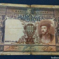 Billetes españoles: 1000 PESETAS JULIO 1925. Lote 177849509