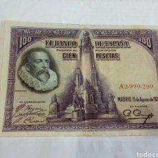 Billetes españoles: BILLETE DE 100 PESETAS. Lote 178170287
