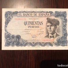 Billetes españoles: BILLETE 500 PESETAS 1971. Lote 179080560