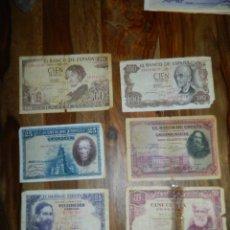 Billetes españoles: BILLETES ESPAÑOLES LOTE. Lote 179343653