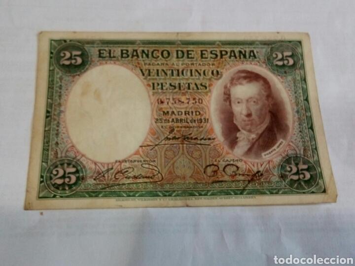 BILLETE DE 25 PESETAS (Numismática - Notafilia - Billetes Españoles)