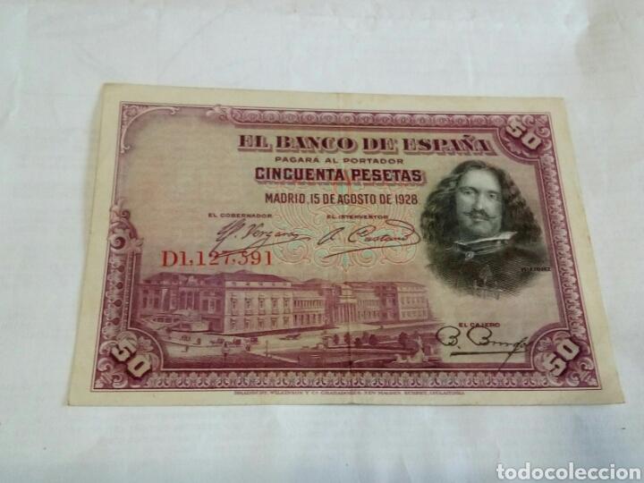 BILLETE DE 50 PESETAS (Numismática - Notafilia - Billetes Españoles)