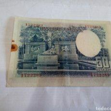 Billetes españoles: BILLETE DE 50 PESETAS. Lote 179537388