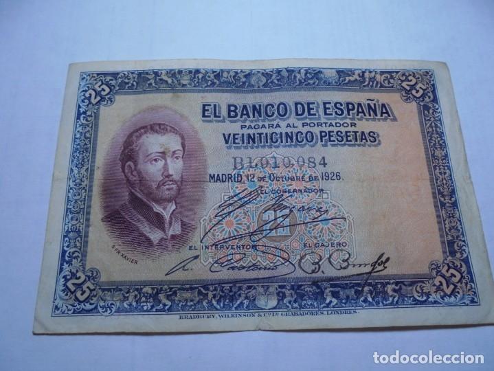 MAGNIFICOS 7 BILLETES ANTIGUOS (Numismática - Notafilia - Billetes Españoles)