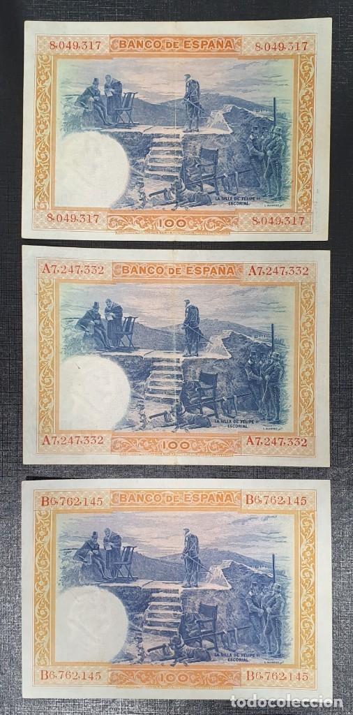 Billetes españoles: BILLETE 100 PESETAS 1925 SIN SERIE A Y B - Foto 2 - 180125051