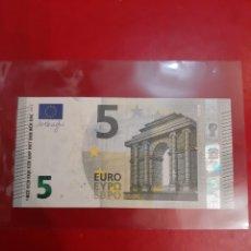 Billetes españoles: 2013 ESPAÑA 5 EUROS DRAGHI SIN CIRCULAR VB966786915. Lote 180162127