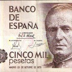 Billetes españoles: BILLETE CINCO PESETAS 1979. SER. I. Lote 180249652