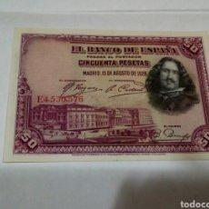 Billetes españoles: BILLETE DE 50 PESETAS. Lote 180497687