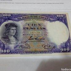 Billetes españoles: BILLETE DE 100 PESETAS. Lote 180498497