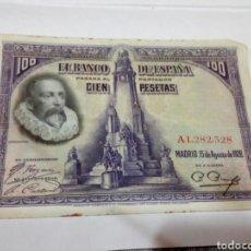 Billetes españoles: BILLETE DE 100 PESETAS. Lote 180499096