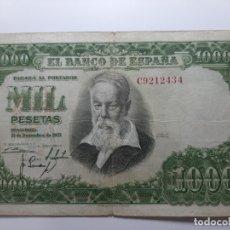 Billetes españoles: BILLETE 1000 PESETAS 1951 MBC-. Lote 181223208