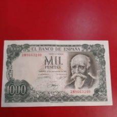 Billetes españoles: 1971 BILLETES ESPAÑA ECHEGARAY MIL PESETAS SERIE 2 M 8663240. Lote 181401197