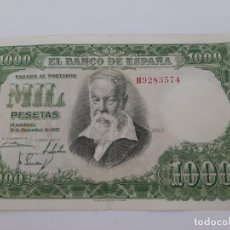 Billetes españoles: BILLETE 1000 PESETAS 1951 MBC. Lote 181626402