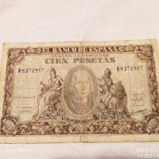 Billetes españoles: BILLETE DE 100 PESETAS DE ENERO DE 1940. Lote 181970435