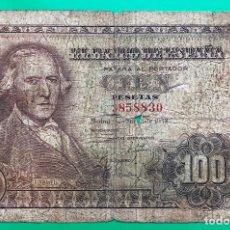 Billetes españoles: BILLETE 100 PESETAS, 1948 (BAYEU). Lote 182689321