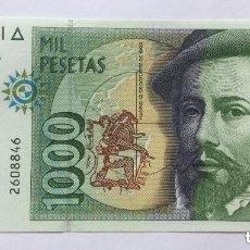 Billetes españoles: 1000 PESETAS - 1992 - SIN SERIE - SIN CIRCULAR. Lote 194557263