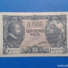 Billetes españoles: SPAIN P116A BILLETE 25 PESETAS 1940 JUAN DE HERRERA MBC+ VF+ SERIE E3471176 R9616. Lote 182782966