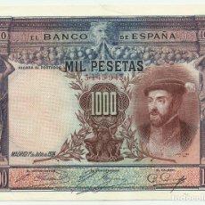 Billetes españoles: BILLETE DE 1000 PESETAS DE 1 DE JULIO DE 1925. MADRID. SIN LETRA DE SERIE. LOTE 1272. Lote 182872362