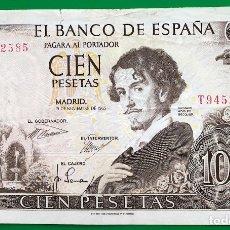 Billetes españoles: BILLETE 100 PESETAS 1953 JULIO ROMERO DE TORRES. Lote 182904486