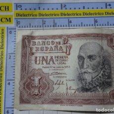 Billetes españoles: BILLETE ORIGINAL DE ESPAÑA. MADRID 22 JULIO 1953. W4572869. Lote 183529683