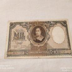 Billetes españoles: 1000 PESETAS DEL 9 DE ENERO DE 1940, MURILLO. Lote 183630266