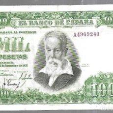 Billetes españoles: BILLETE. BANCO DE ESPAÑA. 1000 PESETAS. 1951. JOAQUIN SOROLLA. VER. Lote 183797690