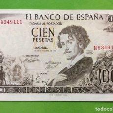 Billetes españoles: BILLETE 100 PESETAS 1965 - GUSTAVO ADOLFO VECQUER. EBC+++. SERIE M. SIN CIRCULAR - PLANCHA. Lote 183829508