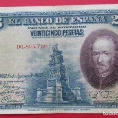 Billetes españoles: ALFONSO XIII. BILLETE DE 5 PESETAS. 1928.. Lote 183997030