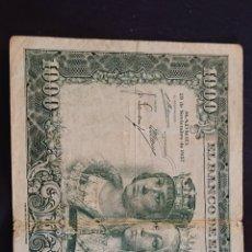 Billetes españoles: BILLETE 1000 PESETAS 1957 REYES CATÓLICOS. Lote 184254351