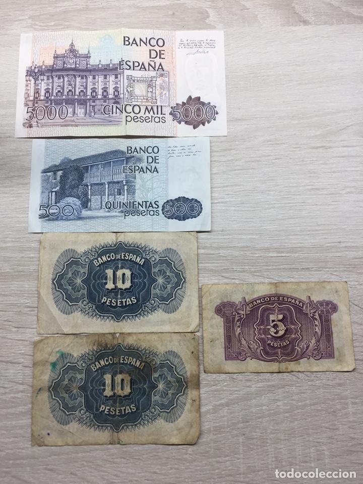 Billetes españoles: Lote pesetas - Foto 2 - 187467582