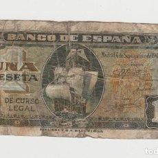 Banconote spagnole: 1 PESETA- 4 DE SETIEMBRE DE 1940. Lote 188514012
