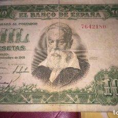 Billetes españoles: BILLETE 1000 MIL PESETAS 1951 . Lote 190694180