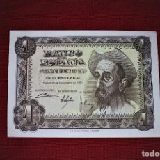 Billetes españoles: ESPAÑA 1 PESETA 1951 DON QUIJOTE RB 41 SIN CIRCULAR. Lote 191117520