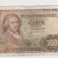 Billetes españoles: 100 PESETAS-2 DE MAYO DE 1948. Lote 191171762