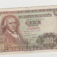 Billetes españoles: 100 PESETAS-2 DE MAYO DE 1948. Lote 191171802