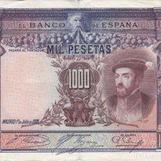 Banconote spagnole: BILLETE DE ESPAÑA DE 1000 PESETAS DEL AÑO 1925 DEL REY CARLOS I EN BUENA CALIDAD. Lote 191376845