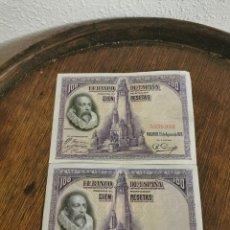 Billetes españoles: ANTIGUOS BILLETES DE 100 PESETAS CON LETRA Y SIN LETRA BUENAS CONDICIONES . Lote 191717878