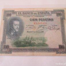 Billetes españoles: BILLETE * 100 PESETAS 1 DE JULIO DE 1925. Lote 191964961