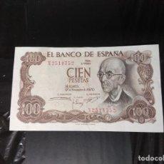 Billetes españoles: BILLETE DE 100 PESETAS DE 1970.. Lote 192090497