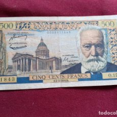 Billetes españoles: FRANCIA- 500 FRANCOS- 04-03-1954. Lote 192351142