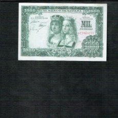 Billetes españoles: 1 BILLETE DE 1000 PTS 29 11.1957 R. CATOLICOS N. SERIE 1T7065271. Lote 192957800