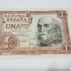 Billetes españoles: BILLETE DE UNA PESETA. Lote 194218330