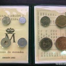 Billetes españoles: CARTERA DE MONEDAS DE ESPAÑA - JUAN CARLOS I - 1993 - SIN CIRCULAR. Lote 194250196