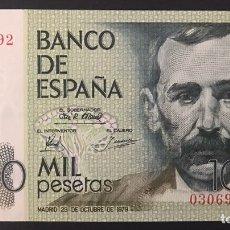 Billetes españoles: CMC 1000 PESETAS 23 OCTUBRE 1979 BENITO PEREZ GALDOS SIN SERIE SIN CIRCULAR. Lote 194275810