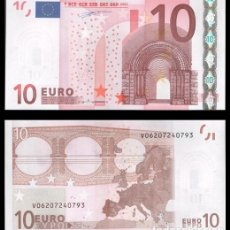 Billetes españoles: ESPAÑA, 10 EUROS 2002 1ª FIRMA DUISENBERG S/C. Lote 194397790