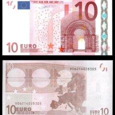 Billetes españoles: ESPAÑA, 10 EUROS 2002 1ª FIRMA DUISENBERG S/C. Lote 194398641