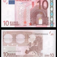 Billetes españoles: ESPAÑA, 10 EUROS 2002 1ª FIRMA DUISENBERG S/C. Lote 194398992